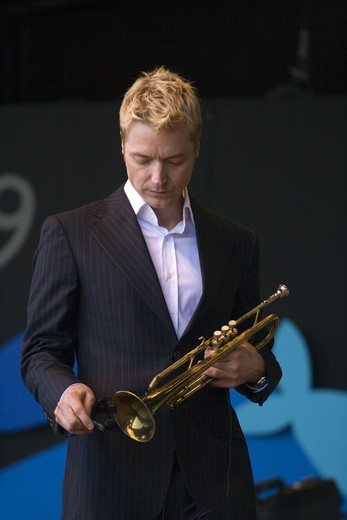 Stock Photo: 1886-54088 CHRIS BOTTI (Trumpet) performs at THE MONTEREY JAZZ FESTIVAL