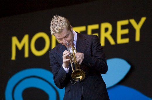Stock Photo: 1886-54089 CHRIS BOTTI (Trumpet) performs at THE MONTEREY JAZZ FESTIVAL