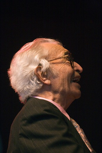 DAVE BRUBECK (Piano) performs the CANNERY ROW SUITE at THE MONTEREY JAZZ FESTIVAL : Stock Photo