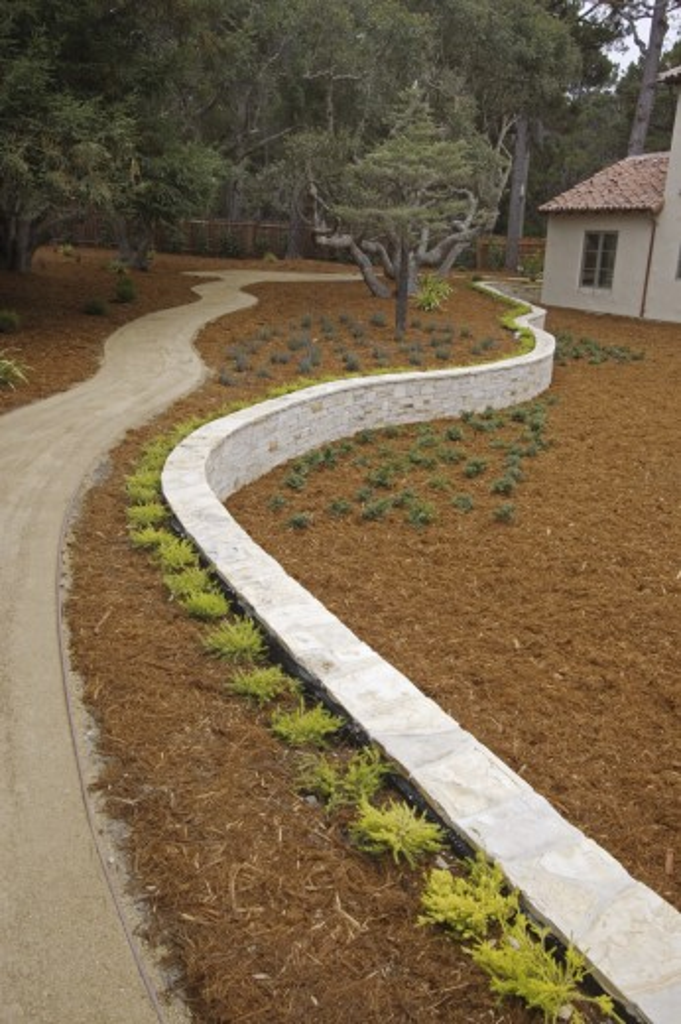 Garden path - CALIFORNIA LUXURY HOME : Stock Photo
