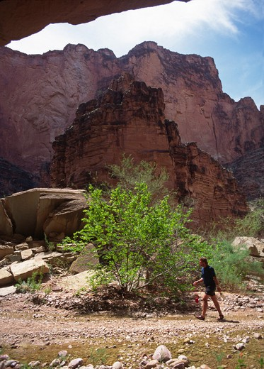 Stock Photo: 1886-56061 MATKATAMIBA CANYON (mile 147) is considered holy by the HUALAPAI INDIANS - GRAND CANYON NATIONAL PARK, ARIZONA (MR)