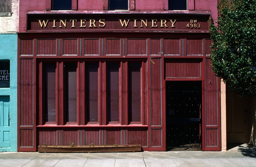 Stock Photo: 1886-56754 WINTERS WINERY - WINTERS, CALIFORNIA