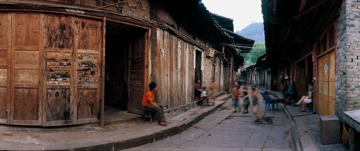Stock Photo: 1886-58718 Traditional Alley