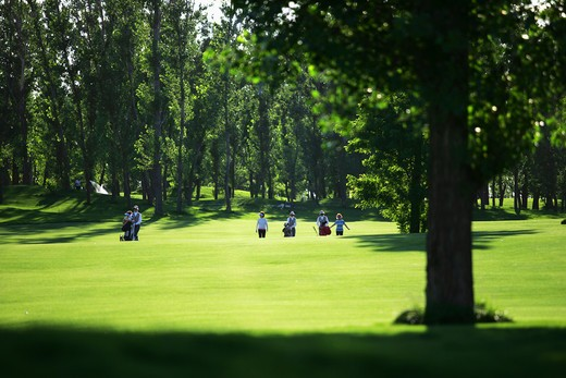 Stock Photo: 1886-58866 Golf Course View