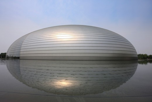 Stock Photo: 1886-59721 National Grand Theater,Beijing,China