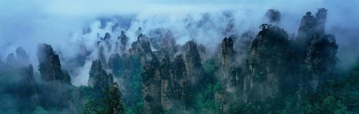 Stock Photo: 1886-59787 Nature Scenes In Zhangjiajie,China