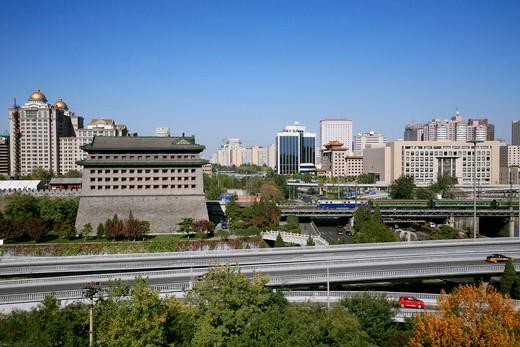 Stock Photo: 1886-59801 Dongbianmen,Beijing,China
