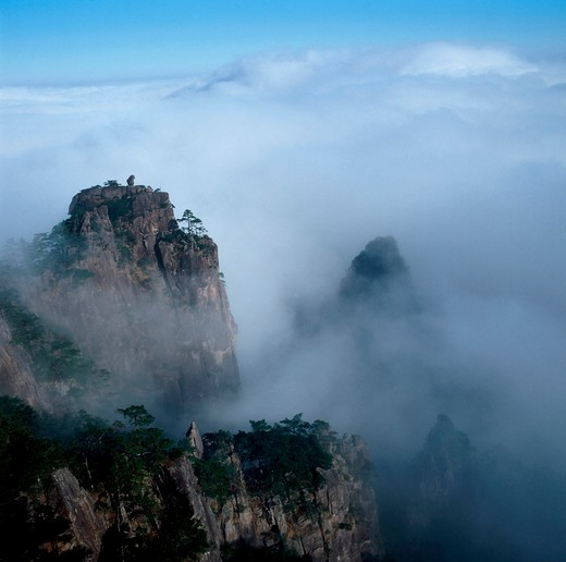 Scenics Of Huangshan Mountain,Anhui,China : Stock Photo