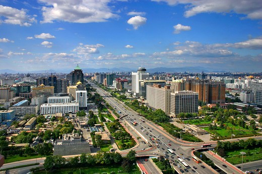 Stock Photo: 1886-60100 Cityscape,Beijing,China