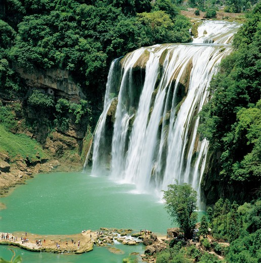 Stock Photo: 1886-61320 Huangguoshu Waterfall,Guizhou,China