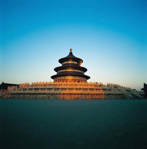 Stock Photo: 1886-61585 Temple of Heaven,Beijing,China