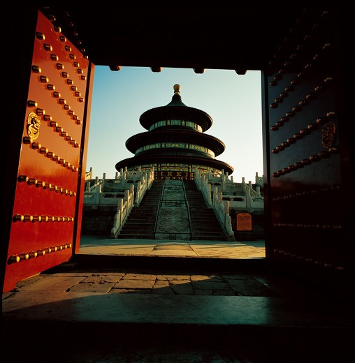 Stock Photo: 1886-61587 Temple of Heaven,Beijing,China