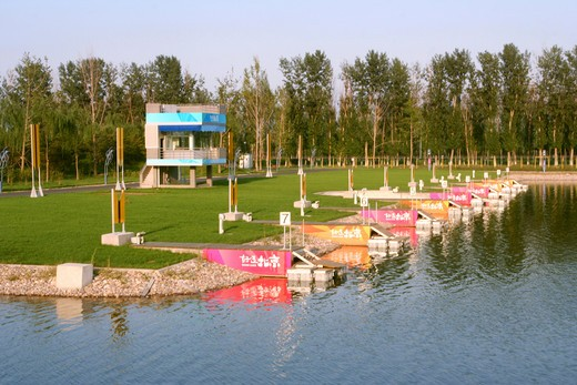 Stock Photo: 1886-61661 Shunyi Olympic Rowing-Canoeing Park,Beijing,China