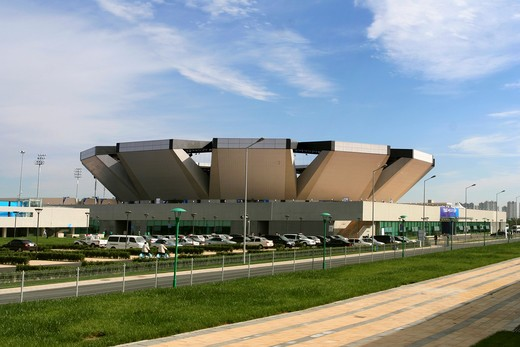 Olympic Green Tennis Center,Beijing,China : Stock Photo