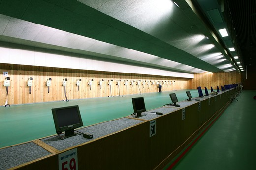 Stock Photo: 1886-62538 Beijing Shooting Range Hall,China
