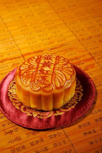 Stock Photo: 1886-62766 moon cake,still life
