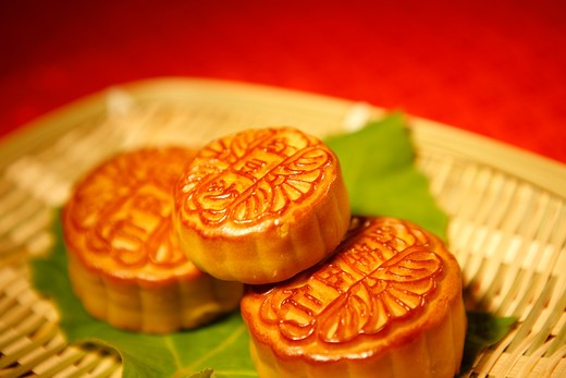 moon cake,still life : Stock Photo