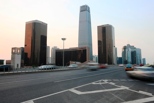 Stock Photo: 1886-63238 Cityscape In CBD Beijing,China