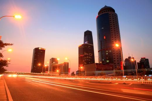 Cityscape In CBD Beijing,China : Stock Photo