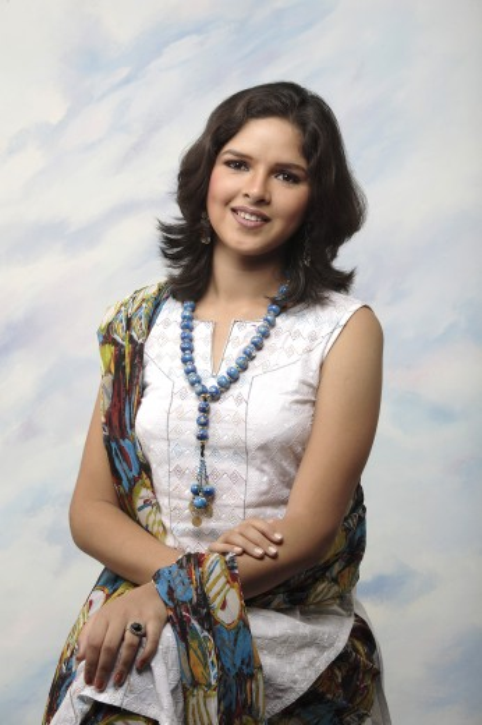Indian girl in modern wearing MR#372 : Stock Photo