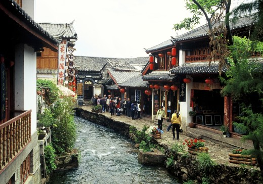 old town of Lijiang,Yunnan,China : Stock Photo