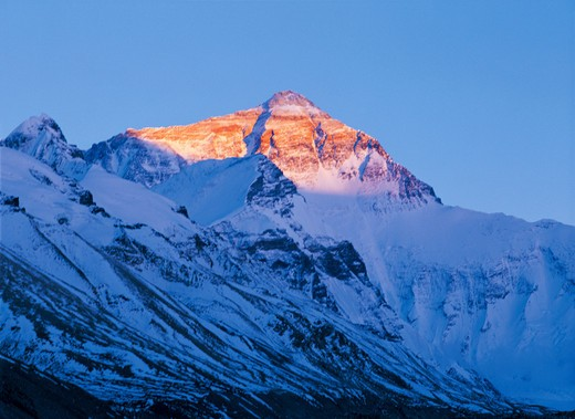 snowscape,Everest : Stock Photo