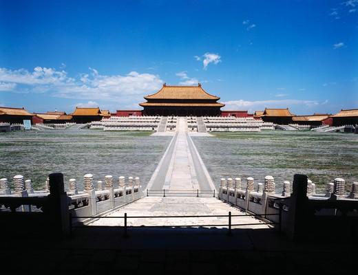 Stock Photo: 1886R-29593 The Forbidden City,Beijing,China