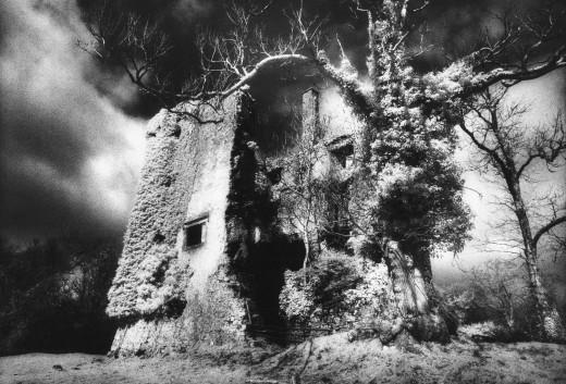 'Old' Castle Hackett, County Galway, Ireland : Stock Photo