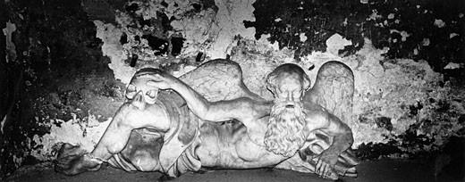 Statue in Crypt, Schloss Altenburg, Thuringen, Germany : Stock Photo