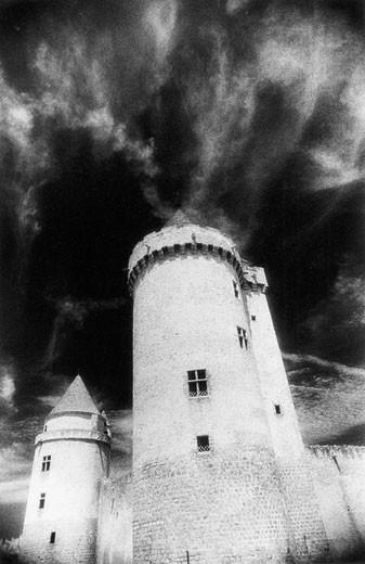 Blandys-Les-Tours Chateau, Isle-De-France, France : Stock Photo