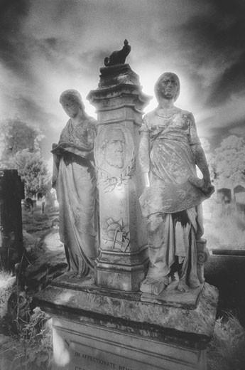 Tomb, Brompton Cemetery, London : Stock Photo