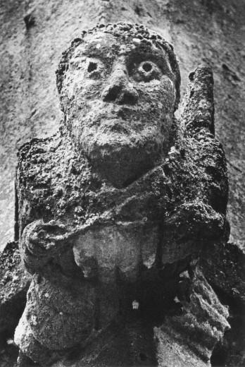 Gargoyle, St Peter's Church, Winchcombe, Gloucestershire, England : Stock Photo