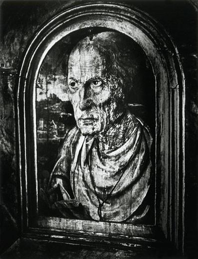 Portrait of 'Jack of Kent', Kentchurch Court, Herefordshire, England : Stock Photo