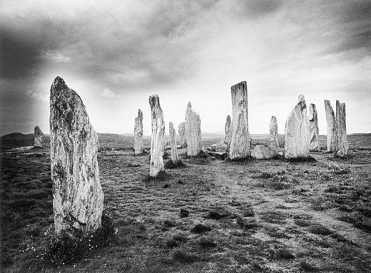 The Callanish Stones, Isle of Lewis, Outer Hebrides, Scotland : Stock Photo
