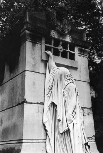 Raspail FamilyTomb, Pere Lachaise Cemetery, Paris : Stock Photo