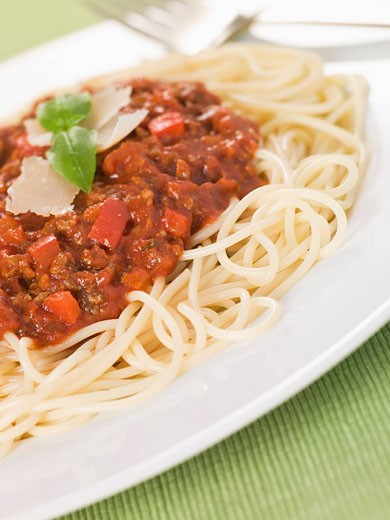 Spaghetti Bolognaise : Stock Photo