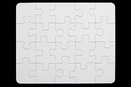 Stock Photo: 1888R-18784 Close_Up Of Small Puzzle