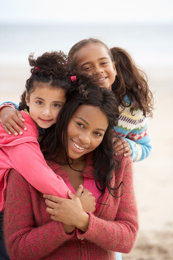 Mother with children : Stock Photo