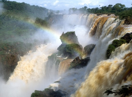 Brazil, Iguacu Falls : Stock Photo