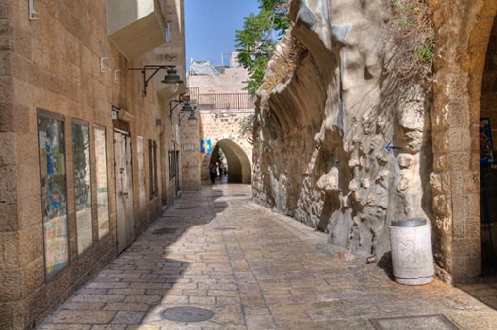 Stock Photo: 1889-40321 Tiferet Yisrael Street; Jerusalem, Israel