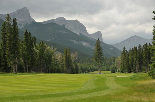 Rockies; Canmore, Alberta, Canada : Stock Photo