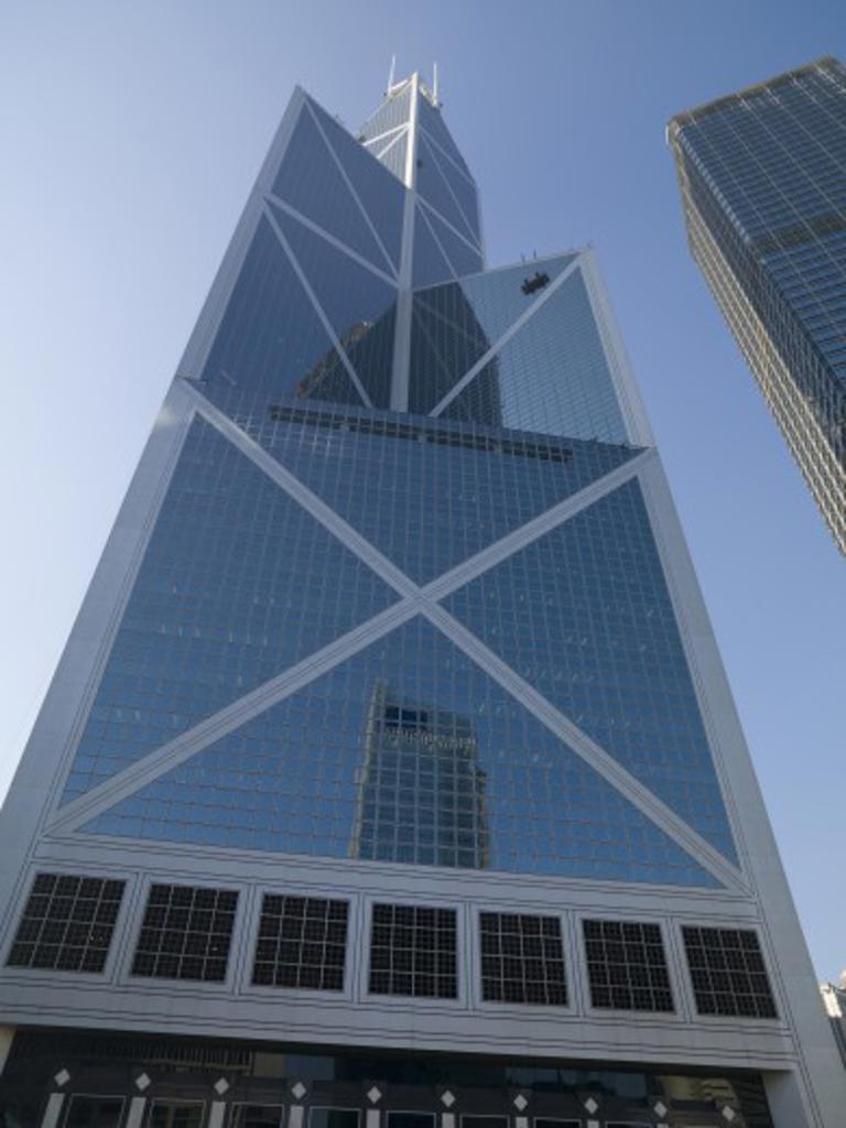 Bank of China Tower; Hong Kong, China : Stock Photo