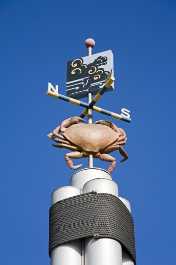 Stock Photo: 1889-42045 Weather Vane; Seattle, Washington State, USA