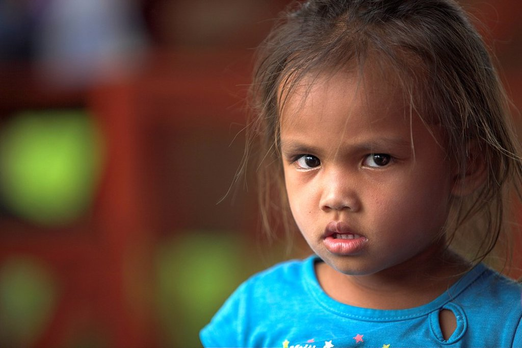 Young girl in Thailand : Stock Photo
