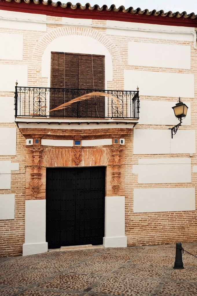ecija, seville, spain, a house in the historic old town : Stock Photo