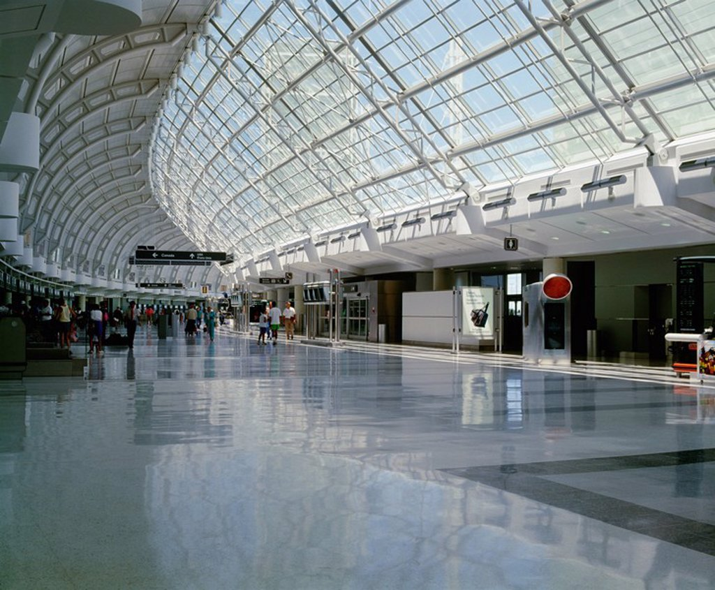 Stock Photo: 1889-58546 Terminal 3, Pearson International Airport, Toronto, Ontario, Canada