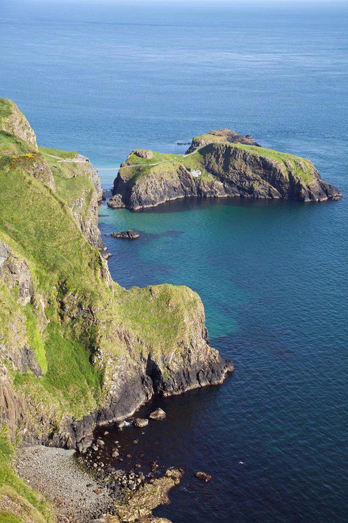 Coastal cliffs : Stock Photo