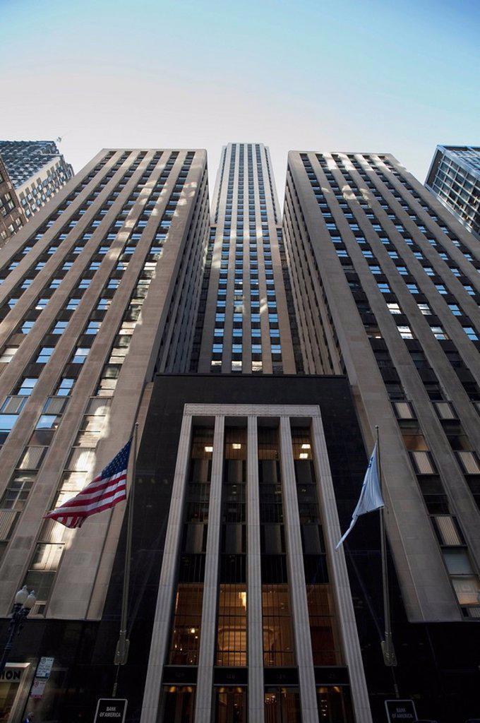 Downtown building, Chicago, Illinois, USA : Stock Photo