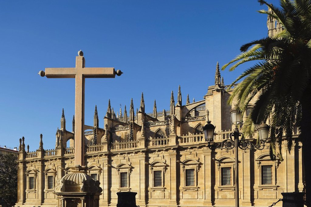 Seville, Andalusia, Spain, Cathedral Of Seville : Stock Photo