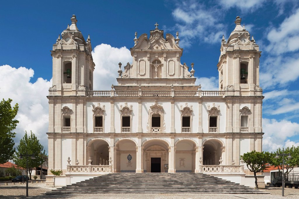 Stock Photo: 1889-62387 santuario do senhor jesus dos milagres the sanctuary of miracles of the lord jesus, milagres, estremadura and ribatejo, portugal